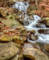 couleurs dans les rochers