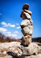 pile de roche photo