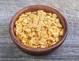 flocons de maïs photo