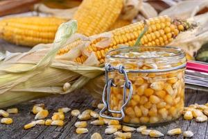 Maïs en conserve