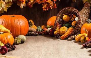 réglage de la table d'automne 1 photo