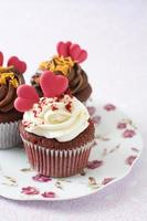 cupcakes de la Saint-Valentin photo
