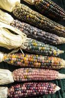verre bijou épi de maïs héritage indien cherokee