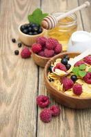 petit déjeuner le matin photo