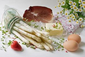 "affiches ""asperges blanches au jambon"" photo"