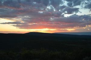 coucher de soleil colorado mesa photo