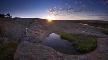 coucher de soleil à waverock