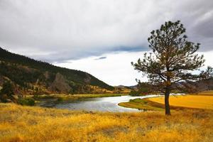 la rivière missouri. photo