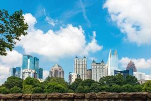 Skyline de Midtown Atlanta, Géorgie photo