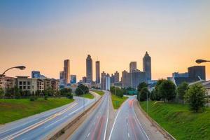 image des toits d'Atlanta photo