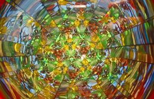 kaléidoscope de couleur photo