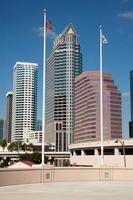 Bâtiments au centre-ville de Tampa, Floride photo