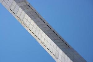 arc abstrait d'en bas photo