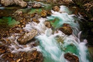 débit de la rivière photo