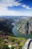 le canyon de la rivière sil photo