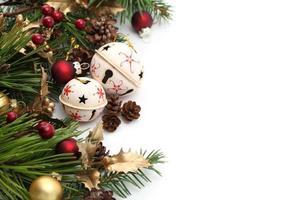 frontière de Noël jingle bell