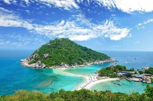 koh nangyuan, surat thani, thaïlande