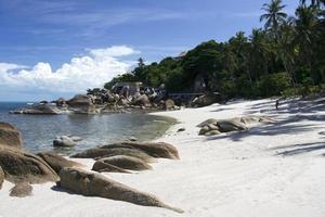 resort de luxe plage koh samui thaïlande photo