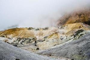 Jigokudani hell mountain à noboribetsu japon10