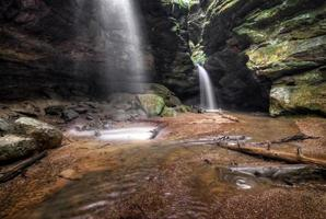 chutes d'eau de source photo