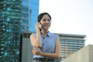 jeunes femmes d'affaires asiatiques photo