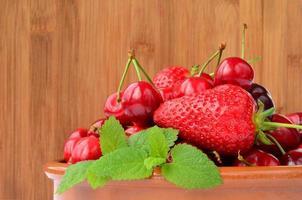 fruit de printemps photo