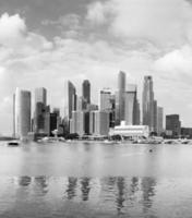 baie de singapour photo