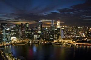 Skyline de Singapour photo