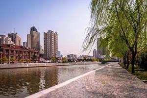 suzhou creek, shanghai, chine photo