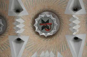 décorations de la Sagrada Familia sur le mur photo