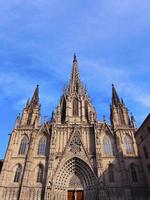 cathédrale à barcelone