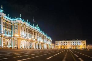 Place du Palais à Saint-Pétersbourg, en Russie. photo