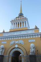 la tour de l'amirauté, saint-petersburg