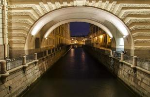 canal d'hiver photo
