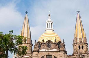 la cathédrale de guadalajara, jalisco (mexique)