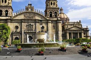 la cathédrale de guadalajara à jalisco, mexique photo