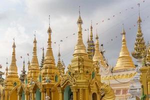 Pagode Shwedagon, Yangon, Myanmar photo