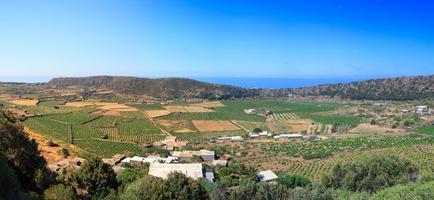 vallée de monastero, pantelleria photo