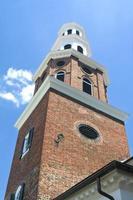 clocher de l'église du christ, vieille ville alexandrie va, style géorgien photo