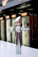 robinet de bière pression photo