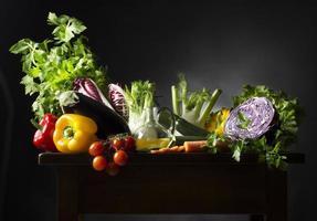nature morte aux légumes photo
