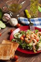 Salade composée.