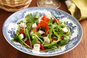 salade de roquette photo