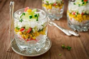 salade de fruit de mer photo