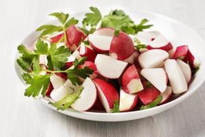 Salade de radis photo