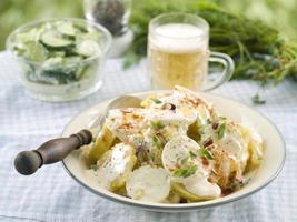 salade de pommes de terre photo