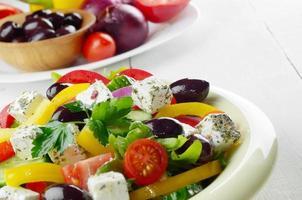 salade grecque maison photo