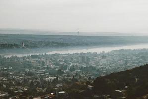 paysage brumeux photo