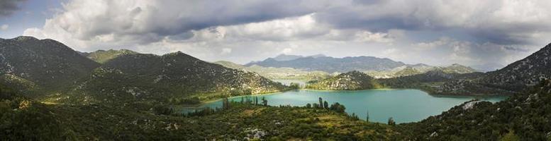 paysage dalmatien photo