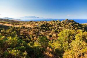 paysage de l'après-midi zakynthos photo